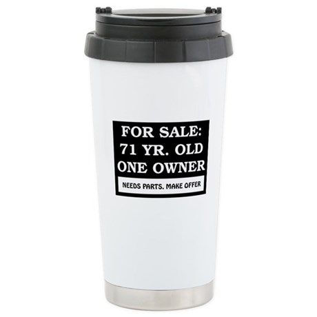 For Sale 71 Year Old Stainless Steel Travel Mug