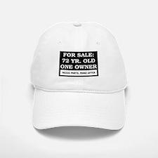 For Sale 72 Year Old Birthday Baseball Baseball Cap