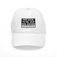 For Sale 72 Year Old Birthday Baseball Cap