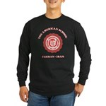 TAS Red Long Sleeve Mens Black T-Shirt