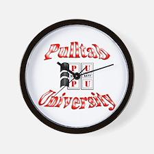 Pull-Tab University Wall Clock