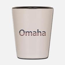 Omaha Stars and Stripes Shot Glass