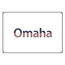 Omaha Stars and Stripes Banner