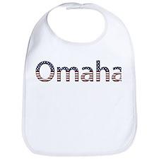 Omaha Stars and Stripes Bib