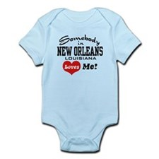 Somebody in New Orleans Loves Me Onesie