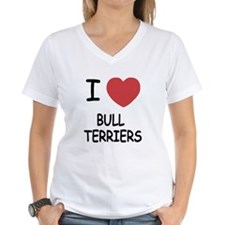 I heart bull terriers Shirt
