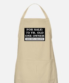 For Sale 73 Year Old Birthday Apron