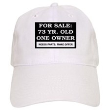For Sale 73 Year Old Birthday Baseball Cap
