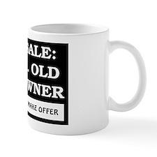 For Sale 73 Year Old Birthday Mug
