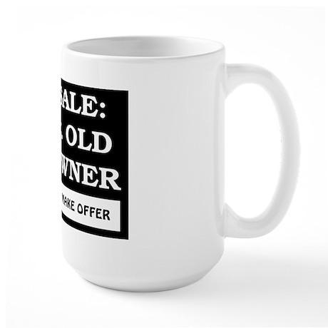 For Sale 73 Year Old Birthday Large Mug