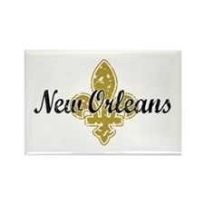 New Orleans Rectangle Magnet