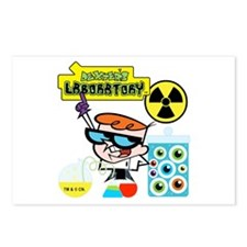 Dexters Laboratory Experiments Postcards (Package