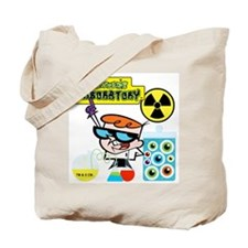 Dexters Laboratory Experiments Tote Bag