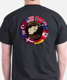 Combat Veteran - Global War T-Shirt