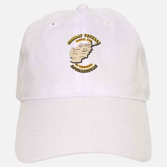 Combat Veteran - Global War Baseball Baseball Cap