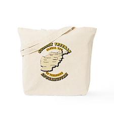 Combat Veteran - Global War Tote Bag