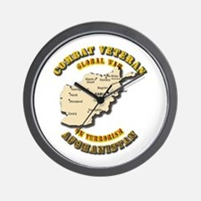 Combat Veteran - Global War Wall Clock