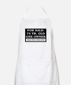 For Sale 74 Year Old Birthday Apron