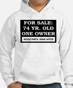 For Sale 74 Year Old Birthday Hoodie