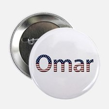 Omar Stars and Stripes Button