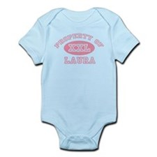 Property of Laura Infant Bodysuit