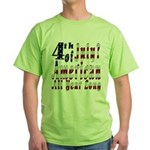 American All Year Green T-Shirt