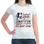 American All Year Jr. Ringer T-Shirt