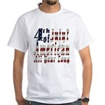 American All Year White T-Shirt