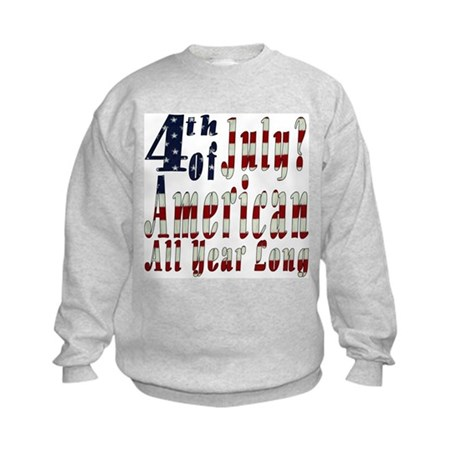 American All Year Kids Sweatshirt