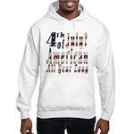 American All Year Hooded Sweatshirt
