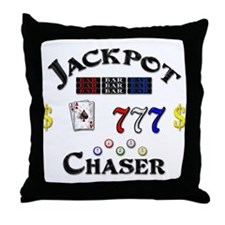 Jackpot Chaser Throw Pillow