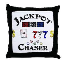 Jackpot Chaser Throw Pillow