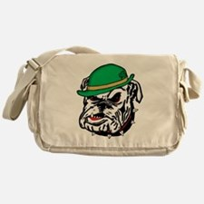 Irish Bulldog Messenger Bag
