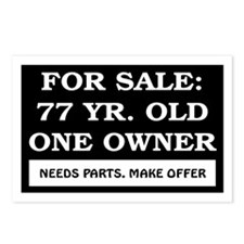 For Sale 77 Year Old Birthday Postcards (Package o