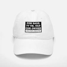 For Sale 77 Year Old Birthday Baseball Baseball Cap