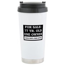 For Sale 77 Year Old Birthday Travel Mug