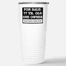 For Sale 77 Year Old Birthday Travel Mug