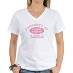 Property of Laila Women's V-Neck T-Shirt