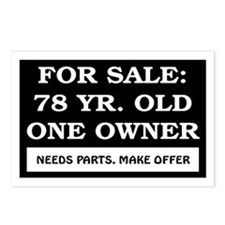 For Sale 78 Year Old Birthday Postcards (Package o