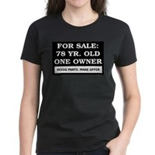 For Sale 78 Year Old Birthday Tee