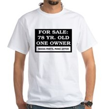 For Sale 78 Year Old Birthday Shirt