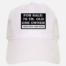 For Sale 78 Year Old Birthday Baseball Baseball Cap