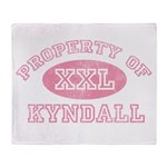 Property of Kyndall Throw Blanket