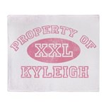Property of Kyleigh Throw Blanket