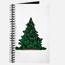 Pink Ribbon Christmas Tree Journal