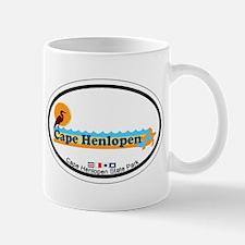 Cape Henlopen DE - Oval Design Mug