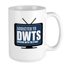 Addicted to DWTS Large Mug