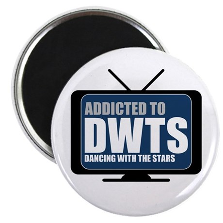 "Addicted to DWTS 2.25"" Magnet (100 pack)"