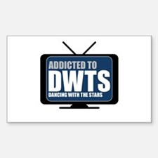 Addicted to DWTS Rectangle Decal
