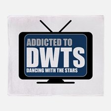 Addicted to DWTS Throw Blanket